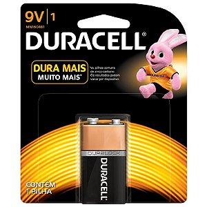 Bateria 9v Duracell Alcalina Duralock Mn1604 Para Pedal Contra Baixo Violão Guitarra