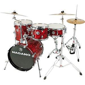 Bateria Acústica Nagano Concert Gig 18 Red Abalone