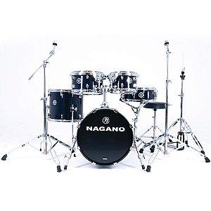 Bateria Acústica Nagano Garage GIG Séries Blue Night