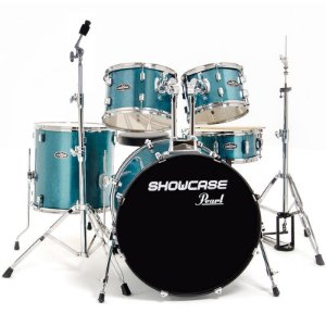 Bateria Acústica Pearl Showcase Scx325s C69 Blue Sparkle