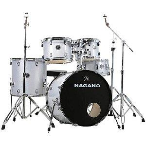 "Bateria Nagano Garage Fusion 20"" Grey Sparkle"