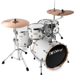 Bateria Odery Fluence Jam Session 220 White Ash