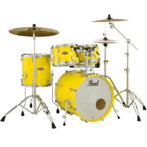 Bateria Pearl Decade Dmp925sp C228 Solid Yellow 5 Piece Shell Pack