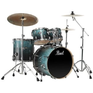 Bateria Pearl Vision Vba825sp Shell Pack 5 Piece C485 Emerald Fade Eucalyptus