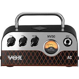 Cabeçote Valvulado Vox Mv Series Mv50 Ac Clean