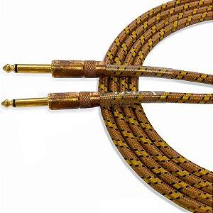Cabo para Instrumentos Santo Angelo Vintage 6,10m