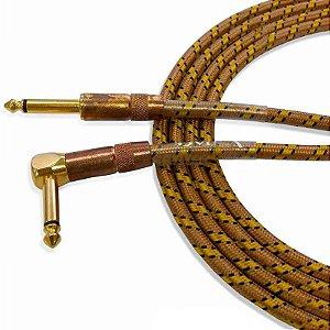 Cabo para Instrumentos Santo Angelo Vintage L 6,10m