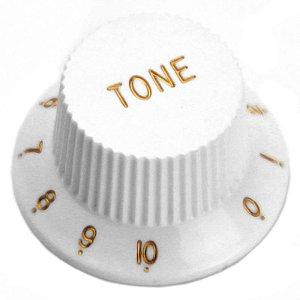 Knob Para Guitarra Santo Angelo Stratocaster Tone White Branco