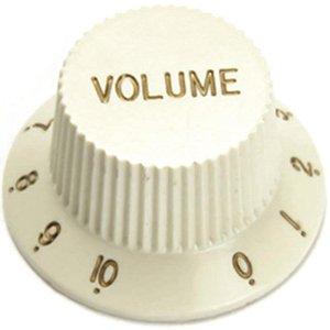 Knob Para Guitarra Stratocaster Volume Creme Santo Angelo