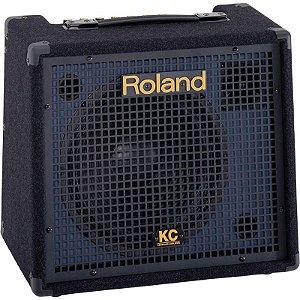 Caixa Amplificada Roland Kc-150 Com 4 Canais