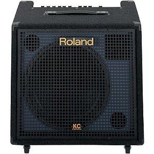 Caixa Amplificada Roland KC-550 Com 4 Canais