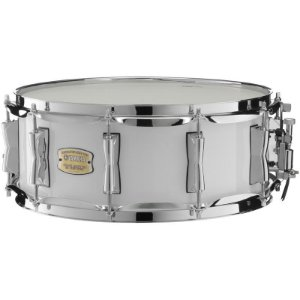 Caixa Bateria Yamaha Stage Custom Birch Sbs1455 14x5,5 Pure White