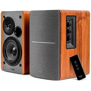 Caixa De Som Edifier R1280t Madeira 42w Rms