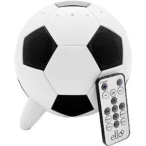 Caixa De Som iSpeaker Ball EIB100 Ello Bivolt USB SD 23W Bola De Futebol