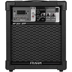 Caixa De Som Multiuso Frahm Mf200 App 60w