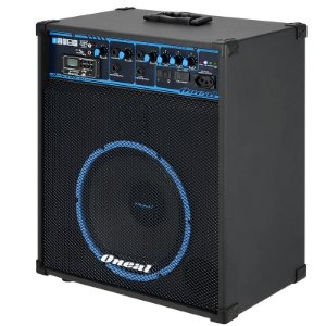Caixa de Som Multiuso Oneal OCM-390 BT USB/SD/FM/Bluetooth 80w Rms