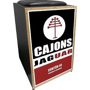 Cajon Acústico Jaguar Cj1000 K2 Cor 006 Caixa De Fósforos