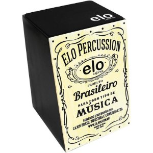 Cajon Percussion Elo El505 Whisky Natural Acústico