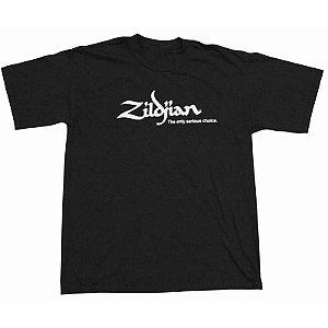 Camiseta Zildjian Classic Black T3004 GG Preta
