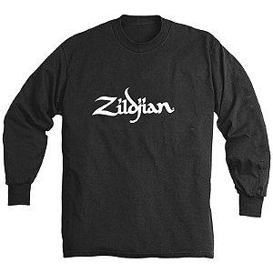 Camiseta Zildjian Classic Long M T-4122 Preta