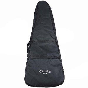 Capa Para Violão Folk 12 Cordas Cr Bag Luxo