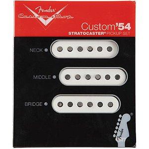 Captador Fender Stratocaster Custom '54 Set Completo