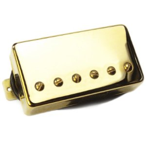 Captador Santo Angelo Humbucker H Classic Bridge (Ponte) Gold