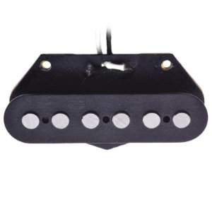 Captador Santo Angelo Single Para Telecaster Bridge Preto