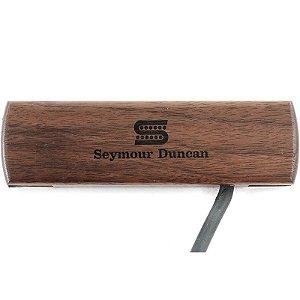 Captador Seymour Duncan Violão Woody Single Coil Wallnut