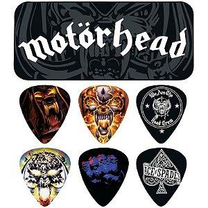 Palhetas Dunlop Motörhead Album Art Lata C/ 6 Unidades