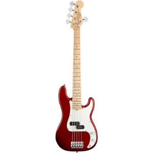 Contrabaixo Fender 5 Cordas American Standard Precision Bass V Candy Cola