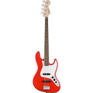 Contrabaixo Fender Squier Affinity Jazz Bass Racing Red