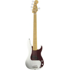 Contrabaixo Fender Squier Vintage Modified Precision Bass V Olympic White