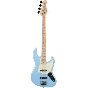 Contrabaixo Jazz Bass Tagima Tjb435 Hand Made In Brazil 4 Cordas Azul Pastel