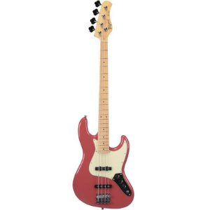 Contrabaixo Jazz Bass Tagima Tjb435 Hand Made In Brazil 4 Cordas Fiesta Red