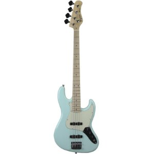 Contrabaixo Jazz Bass Tagima Tjb435 Hand Made In Brazil 4 Cordas Verde Pastel