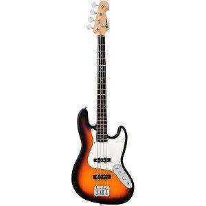 Contrabaixo Phoenix Jazz Bass Phx Jb3ts 4 Cordas Sunburst