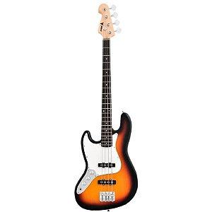 Contrabaixo Phoenix Jazz Bass Phx Jb3ts Lh 4 Cordas Sunburst Canhoto