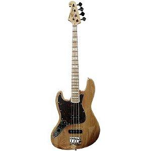 Contrabaixo Sx Jazz Bass Sjb75 Canhoto Natural
