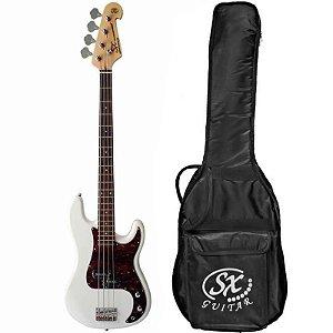 Contrabaixo Sx Precision Bass Bd2 4 Cordas Wt Com Bag