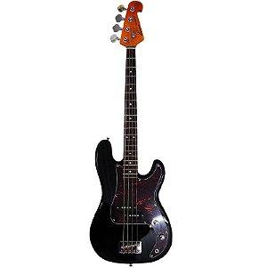 Contrabaixo Sx Precision Bass Spb62 4 Cordas Preto Passivo