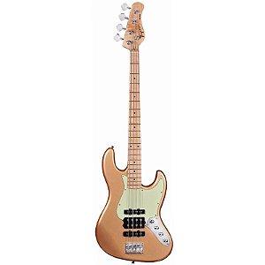 Contrabaixo Tagima Jmj-4 Jazz Bass Gold Dourado