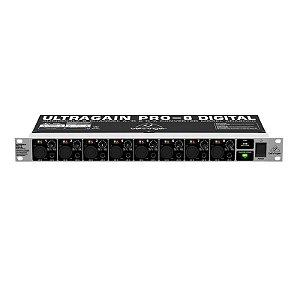 Conversor Digital Behringer Ada 8000 Ultragain Pro-8