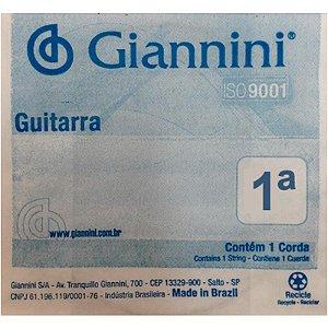 Corda Giannini Avulsa para guitarra 0.009 Geegst9.1