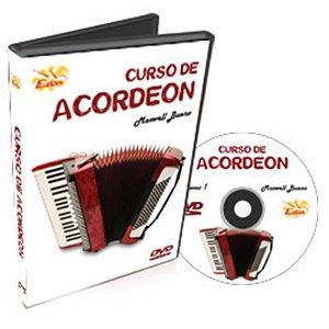 Curso DVD de Acordeon Iniciantes Vol 1 Edon