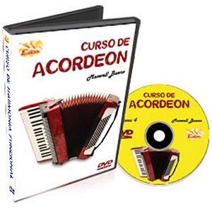 Curso DVD de Acordeon Iniciantes Vol 4 Edon