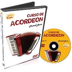 Curso DVD de Acordeon Iniciantes Vol 5 Edon