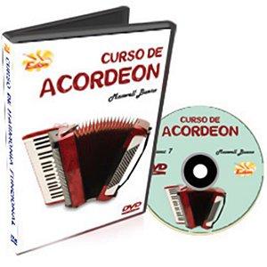 Curso DVD de Acordeon Iniciantes Vol 7 Edon
