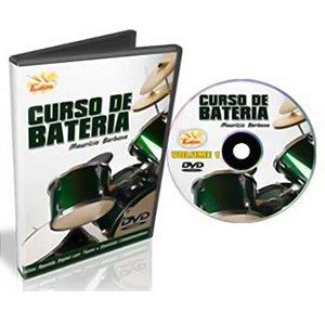 Curso DVD de Bateria para Iniciantes Vol 1 Edon