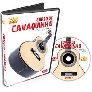 Curso DVD de Cavaquinho Iniciantes Vol 1 Edon
